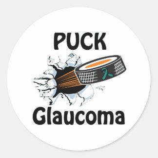 Glaucoma Classic Round Sticker