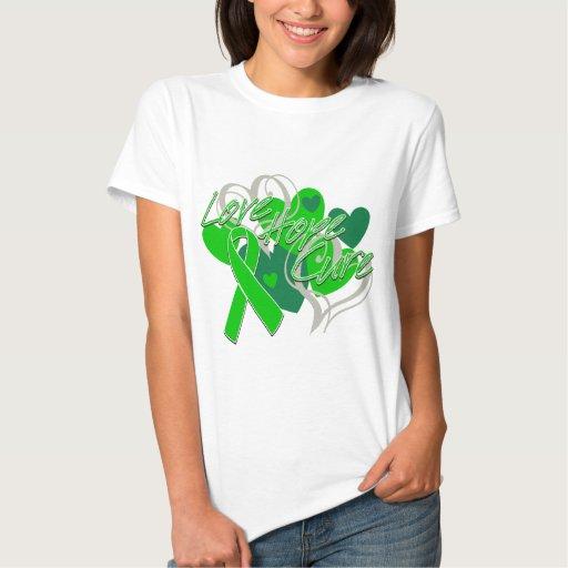 Glaucoma Disease Love Hope Cure Tee Shirt