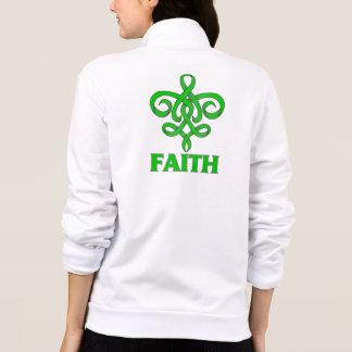 Glaucoma Faith Fleur de Lis Ribbon Tee Shirts
