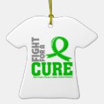 Glaucoma Fight For A Cure Christmas Ornament