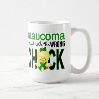 Glaucoma Messed With Wrong Chick Coffee Mug