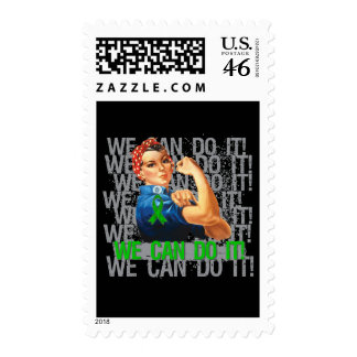 Glaucoma Rosie WE CAN DO IT Stamps
