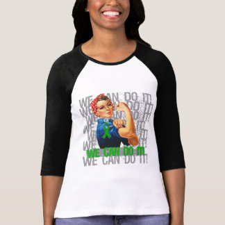 Glaucoma Rosie WE CAN DO IT Tee Shirt