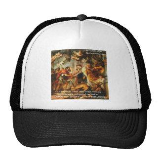 Glaucon (Plato's Brother) & Astronomy Quote Mesh Hat