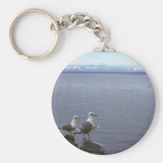 Glaucous-winged Gulls Keychain