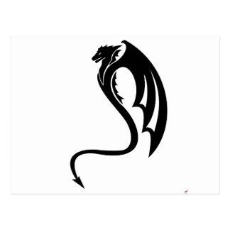 Glaurung el dragón negro postal
