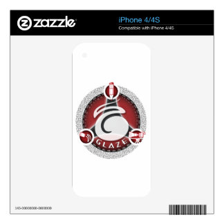 Glaze Creative Hero Logo Decals For The iPhone 4S