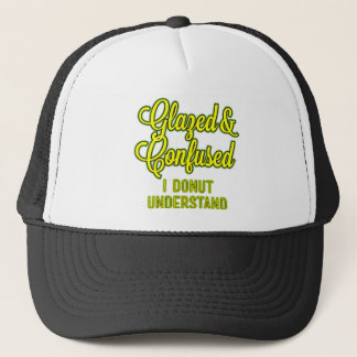 Glazed and Confused – I Donut Understand Trucker Hat