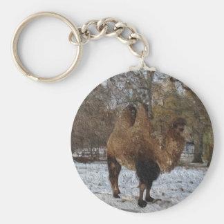 Glazed Camel Art #8083 Keychain