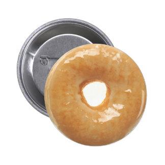 Glazed Donut Button
