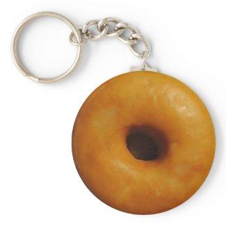 Glazed Donut Keychain keychain