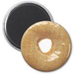 Glazed Donut Novelty 2 Inch Round Magnet