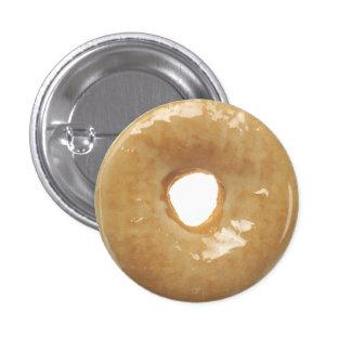 Glazed Donut Novelty Button