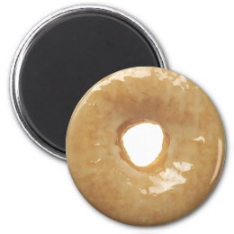 Glazed Donut Novelty Magnet