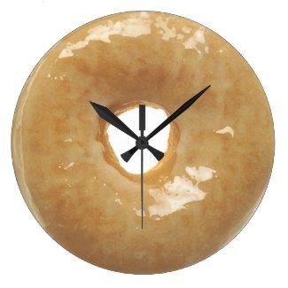 Glazed Donut Novelty Wall Clocks