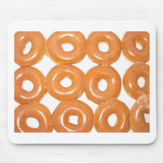 Glazed Donuts Mouse Pad