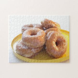 glazed doughnuts jigsaw puzzles