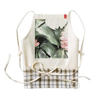 Glazed flowers zazzle HEART apron