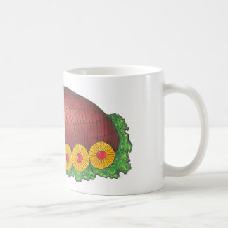Glazed Holiday Ham Platter Christmas Dinner Mug