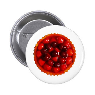 glazed strawberry flan buttons