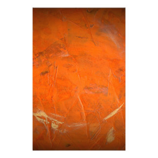 Glazed Terracotta Faux Finish Stationery