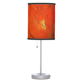 Glazed Terracotta Faux Finish Table Lamp