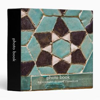 Glazed Tile Mosaic Photo Book Binder
