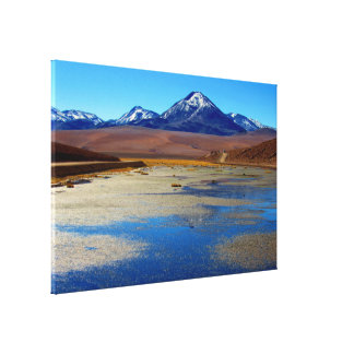 glazed view canvas print