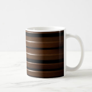 Glazed Wood Background Coffee Mug