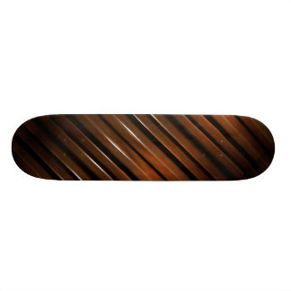 Glazed Wood Background Skateboard Deck