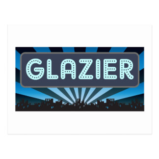 Glazier Marquee Postcard