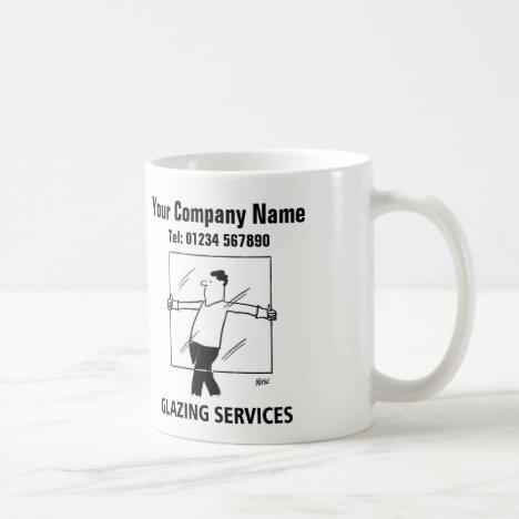 Glazing Services Cartoon Mug