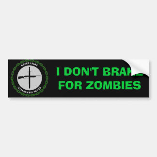 GLAZS Don't Brake Bumper Sticker