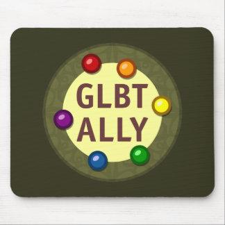 GLBT Ally Baubles Mousepad