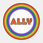 GLBT Ally Sticker