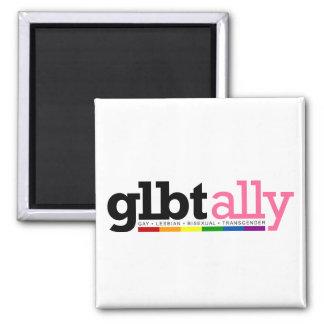 GLBT Ally White Magnet