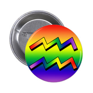 GLBT Aquarius w Button