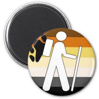 GLBT Bear Pride Hiking Magnet
