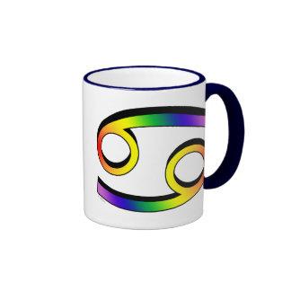 GLBT Cancer Ringer Mug