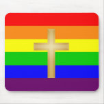 GLBT Christian Pride Mouse Mat