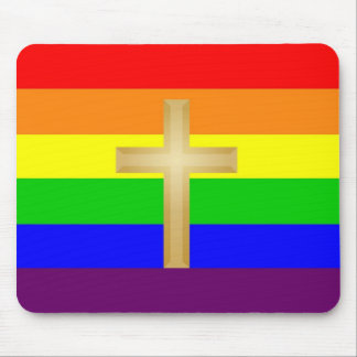 GLBT Christian Pride Mouse Pad