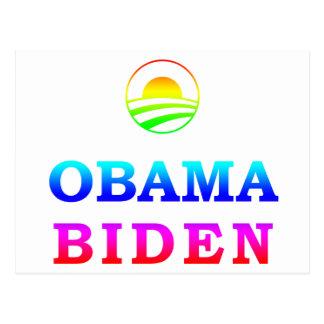 GLBT for Obama Postcard