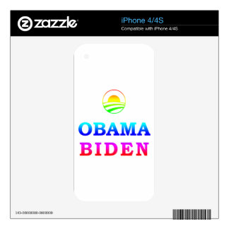 GLBT for Obama Decals For The iPhone 4S