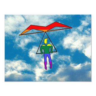 GLBT Hang Glider Custom Invitation
