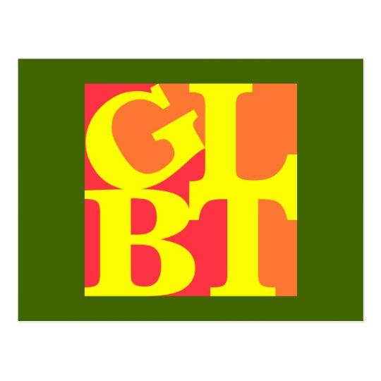 GLBT Hot Pop Postcard