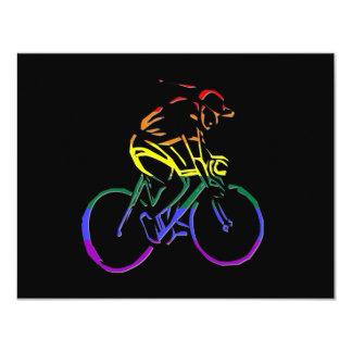 GLBT Pride Bicyclist Card