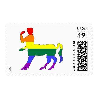 GLBT Pride Centaur #2 Postage Stamp