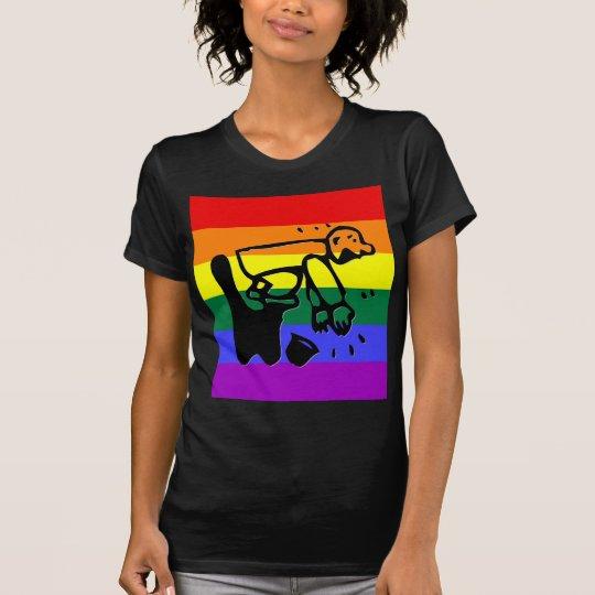 GLBT Pride Clapper T-Shirt