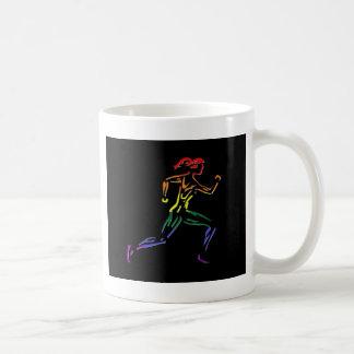 GLBT Pride Female Runner Mug