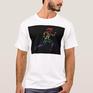 GLBT Pride Female Runner T-Shirt